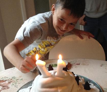 Hen cake 2