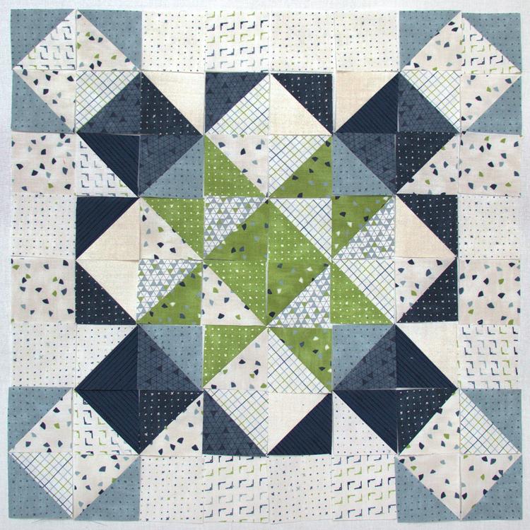 Block Heads 3 - Block 12 - 'Hampshire Star' -  Layout 2