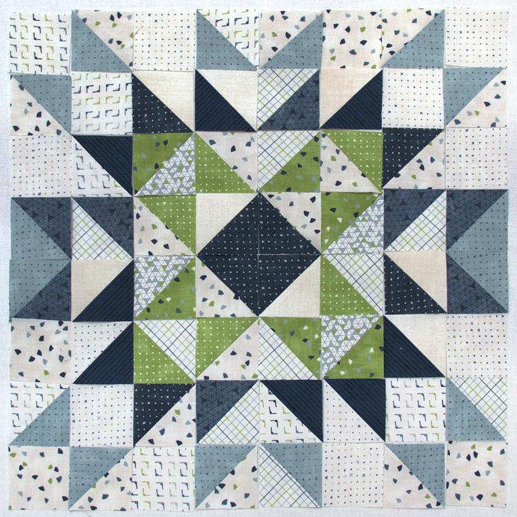 Block Heads 3 - Block 12 - 'Hampshire Star' -  Layout 3