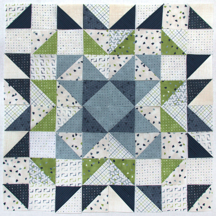Block Heads 3 - Block 12 - 'Hampshire Star' -  Layout 4