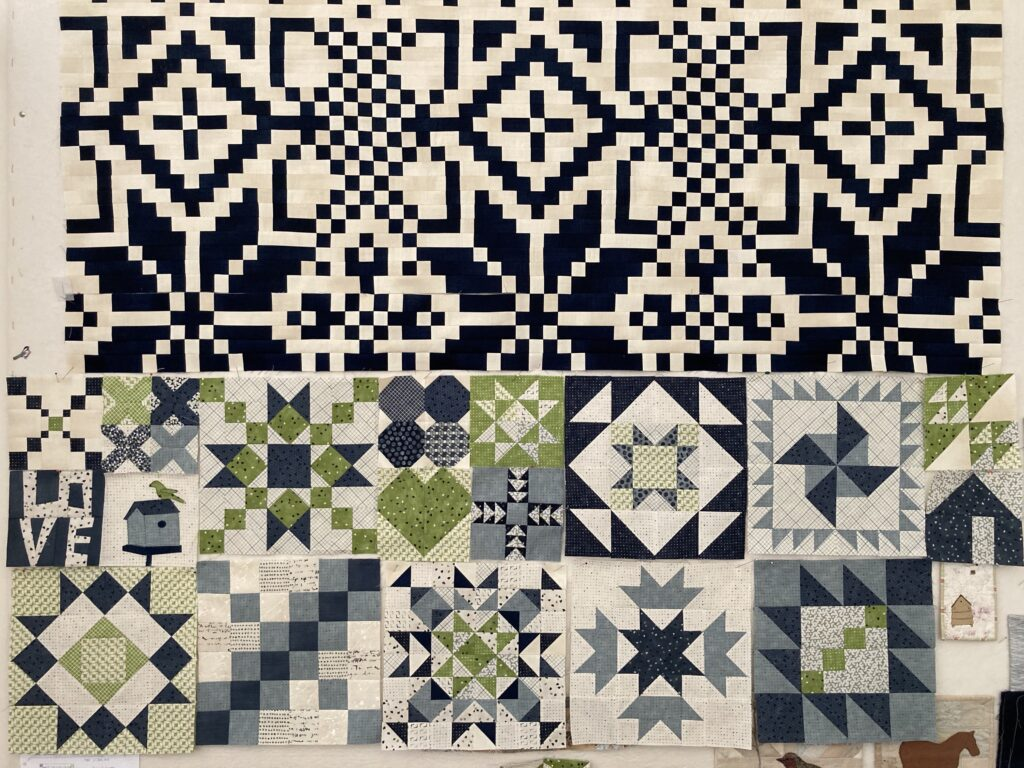 Janet Clare's free 'Twenty Twenty' quilt-along and her Mood BlockHeads3 Blocks