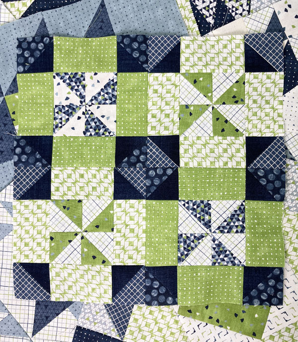 Janet Clare - Moda Blockheads 3 - Windmill Block